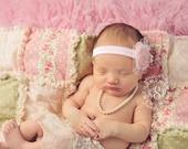 Newborn pearl necklace, newborn jewelry, baby pearl necklace, pearls