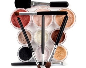 EXOTIC Mineral Makeup Kit - 17pc Full Sizes - Customize Free