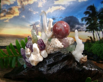 Crystal Garden of Harmony and Light for Home or Office