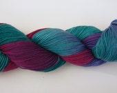 Yarn sock weight Hand dyed 100% Superwash Merino- funfair