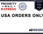 Upgrade Shipping to Priority Mail Express - USA Orders only