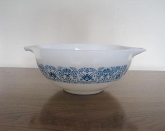 Vintage Blue Horizan  Pyrex Bowl 1960