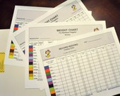 Record Keeping Charts for Breeders _Whelping Details_ Feeding Times_ Weight Gain_Puppy ID Bands