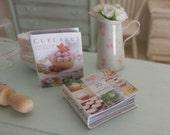 Cupcakes Recipes Books, Dollhouse Miniature,1:12  Scale Dolls House