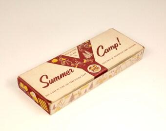Vintage YMCA Summer Camp Sales Box for Fine Art Complexion Soap RARE 1950s Mid-Century Advertising Ephemera