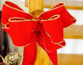 ho ho sale Velvet beaded bows set of three epsteam
