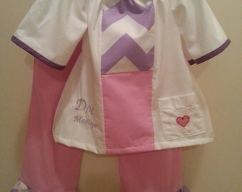 Doc McStuffins inspired pants set