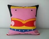 Wonder Woman pillowcase cushion cover 40x40 cm 16x16 inches