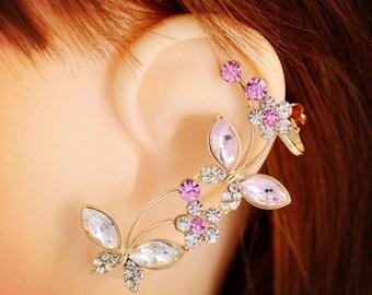 Studded Ear cuff single piece EC1