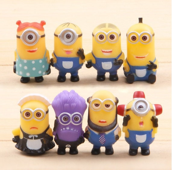 Minions Cake Toppers Figures