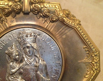 Holy Water Font from France, Saint Anne, Free Shipping in US