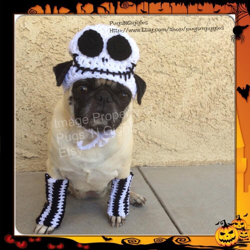 Jack Skellington hat and leg-warmer set-halloween costume for