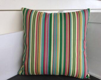Outdoor Cushion Cover in Beach Umbrella Sun N Shade Tropical by Waverly