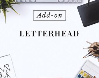 Custom Made Letterhead Design