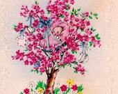 Vintage Greeting Card - Blank - New Baby - 1947