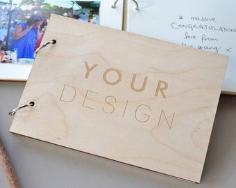 Custom Guest Book - Own Design Book - Personalised Book - Wedding Guest Book - Signature Book - Wedding Day Book - Custom Photo Album