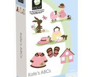 Kate's ABC's, NEW Cricut Cartridge