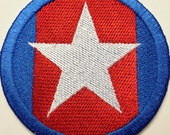 "City Of Heroes / Villains Inspired STATESMAN / HERO 3"" Patch Sew On Or Velcro Back (your choice)"