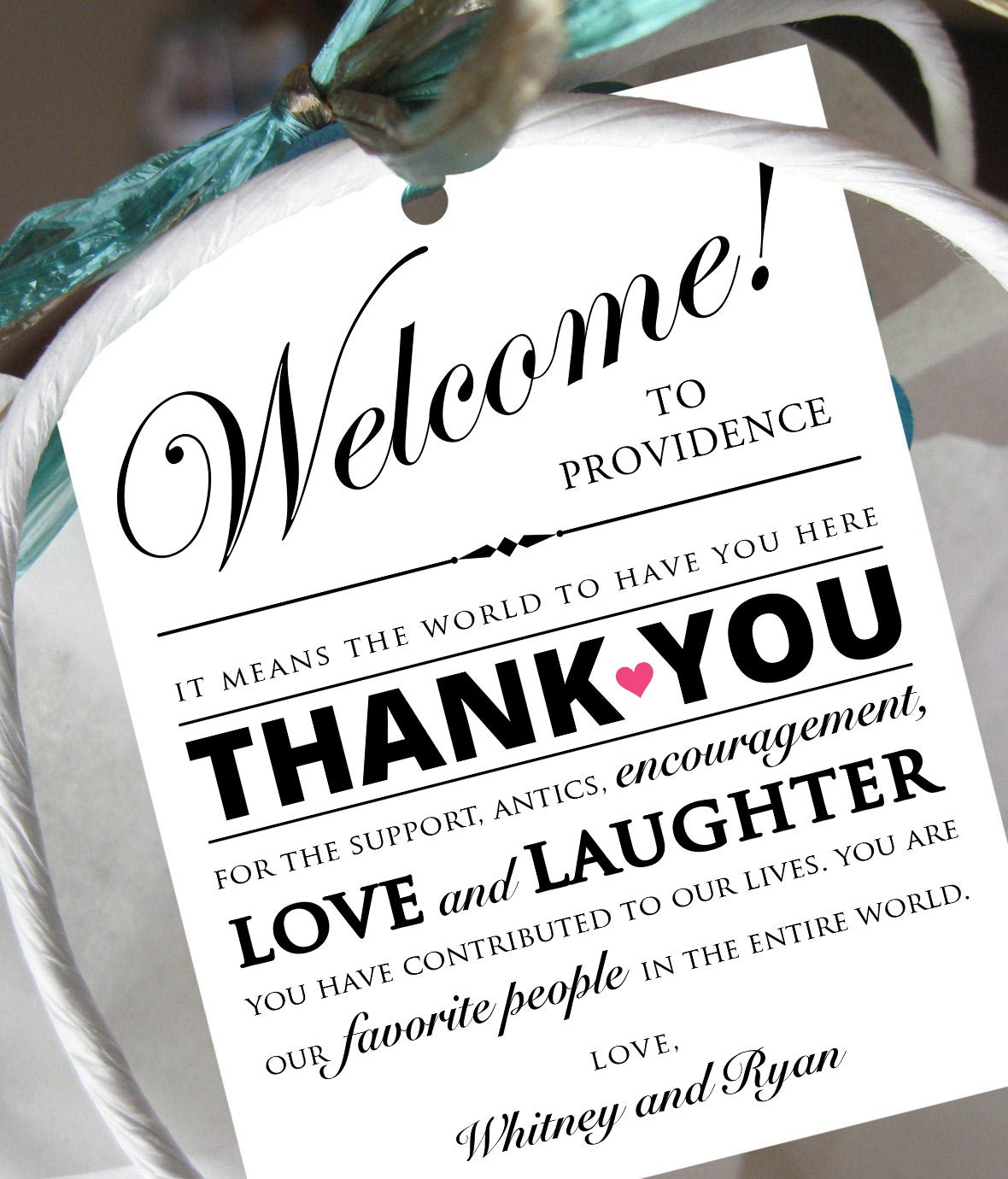 Sle Thank You Note For Wedding Gift Bags 28 Images Set Of 10