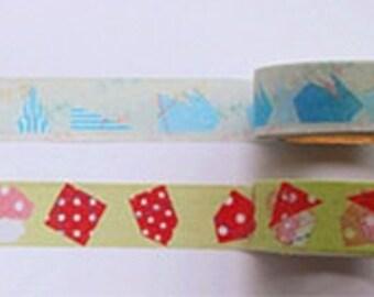 Crazy Sales : Paper Folding Masking Tape - 15 mm x 10 M - 2 Rolls