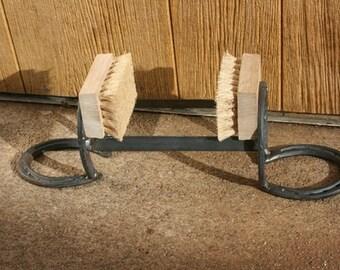 Horseshoe Boot Scraper - The Heritage Forge