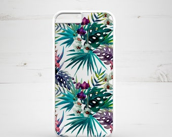 iPhone 6 Case iPhone 5c iPhone 5s iPhone 6 plus cover - Floral Flowers Tropical Exotic - PC0001