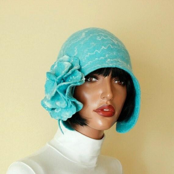Turquoise Hat Size 22 23 Pastel Turquoise