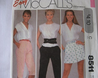 SALE   -   McCalls 8511 Sewing Pattern