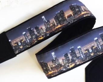 Los Angeles Downtown Skyline Camera Strap. Camera Accessories