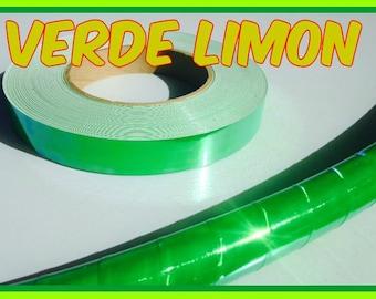 Verde Limon Specialty Taped Practice Hoop -  By Colorado Hoops