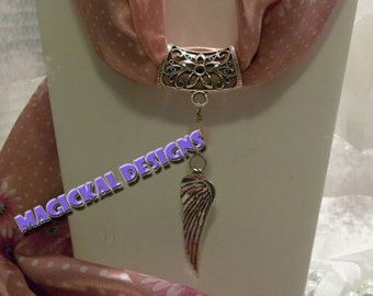 Rose Angel - Scarf Jewelry  string this pendant on your favorite scarf