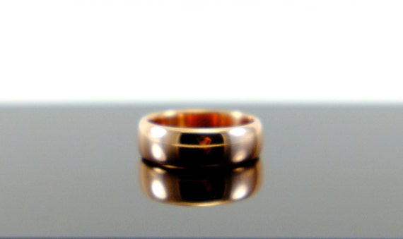 Cast shibuichi ring