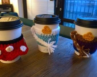 Frozen Elsa Inspired Coffee Cozy