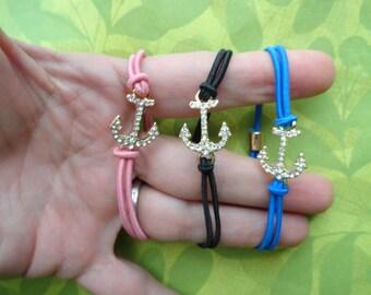 Anchor rope bracelets