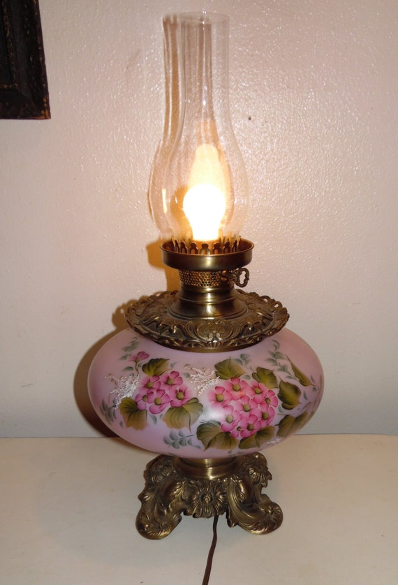 Items Similar To Vintage Hand Painted Pink Gwtw