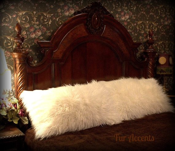 Fur Accents One Pair Of Pillow Shams White By Furaccents