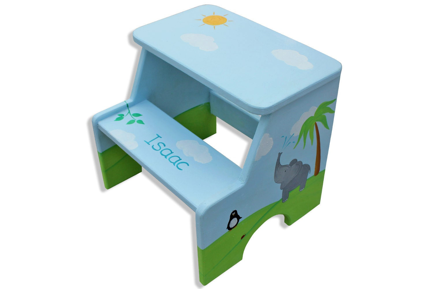 Personalized Kids Step Stool Furniture Table Styles