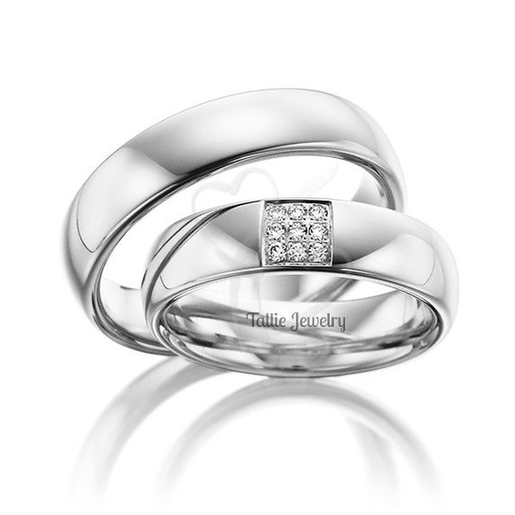 platinum his and hers matching rings setcouple wedding With his and hers wedding rings platinum