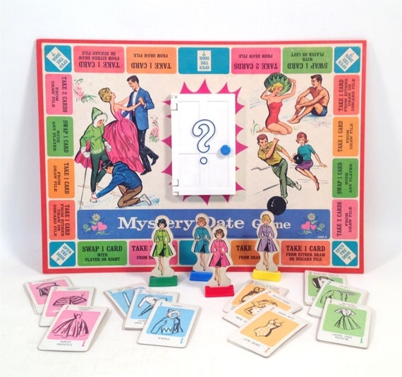 Amazon.com: Classic Mystery Date Board Game: Toys & Games