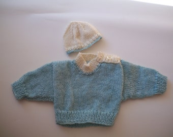 Baby Jumper and Hat