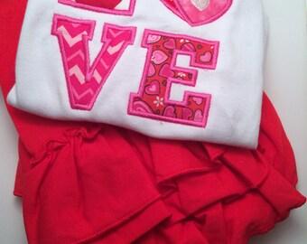 Girls  Valentines Set