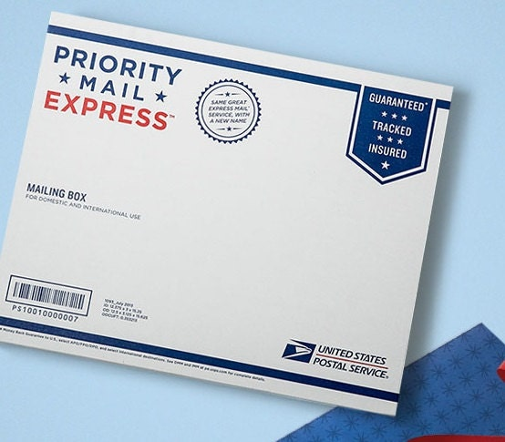 USPS One Day Express Mail Shipping Upgrade Your 1st Class US