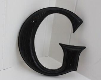 """Vintage Sign Letter """"G"""""""