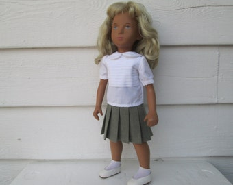 "Sasha doll outfit Sasha doll clothing Sasha doll dresses Doll Clothes  puppenkleider 16"" Skirt for Sasha  Ready to ship"