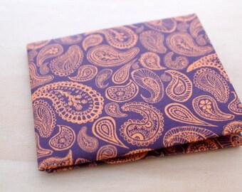 Adaptable Soft Wallet - Slim Light Wallet - WaterProof Wallet - Christmas Gift Durable- Minimalist Wallet -ECO-material - Deep Purple Orange