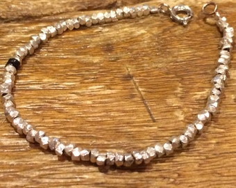 Single Strand - Shell in Silver