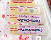 Valentines Day gift for him Valentines day organic lip balm party favor