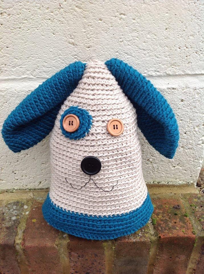 Crochet Dog Pattern Door Stop Pattern Amigurumi Dog