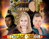 Pixel (8 bit) Chicago TARDIS 2014 Con Exclusive Print