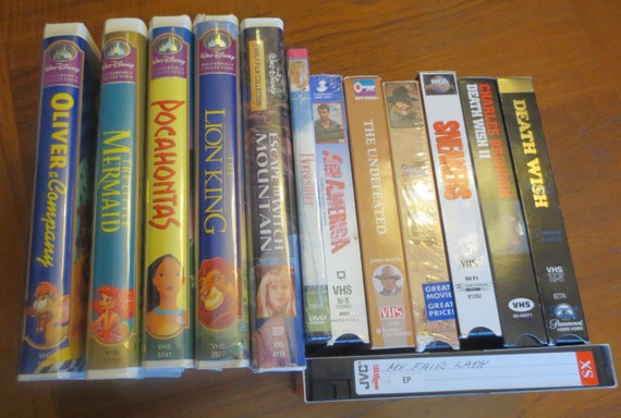 80s Early 90s Movies Vintage 80s And 90s Vhs Movies